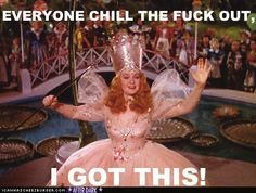 glinda is a bamf