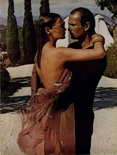 Vogue Editorial The Story of Ohhh...., May 1975 HELMUT NEWTON