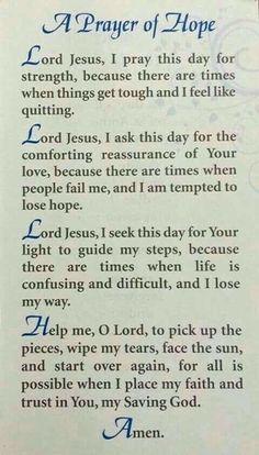 Trendy ideas for quotes god prayer words Prayer Scriptures, Bible Prayers, Faith Prayer, God Prayer, Strength Prayer, Bible Verses, Healing Prayer, Silent Prayer, Prayer Wall