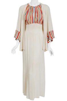 Vintage Clothing, Vintage Outfits, 1930s Fashion, 1940s, Beachwear, Duster Coat, Kimono Top, Jackets, Clothes