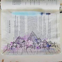 Bible journaling ins