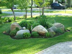 rocks for flower garden mix landscape bed with large rocks rocks in flower garden