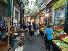 Greece Thessaloniki market