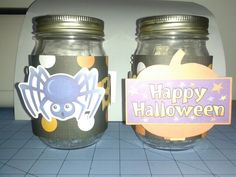 Halloween Center Piece Jars 2&3 Front