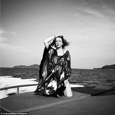 Lindsay Lohan teases new clothing line #dailymail