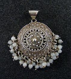 Moonstone Bali Sterling Silver Pendant $36.99
