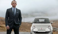 James Bond Will Drive A Fiat 500 And Everyone Is Freaking Out