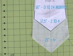 Toddler to kid size ties! Can be made in about 20 minutes!