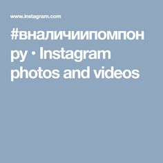 #вналичиипомпонру • Instagram photos and videos