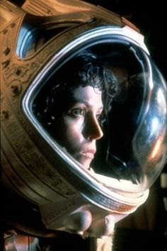 The absolute best female character in the movies. Sigourney Weaver in 'Alien', 1979.