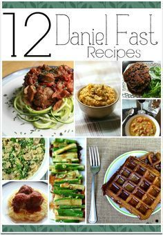 The Daniel Fast is a diet of sorts where you eat only the kind of things eaten by Daniel from the Bible. Daniel ate no meat dairy sugar or leavened bread and drank no alcohol. Youll find 12 recipes here to help you get started. We usually fast for a w 21 Day Daniel Fast, 21 Day Fast, The Daniel Plan, Daniel In The Bible, Daniel Plan Detox, Healthy Recipes, Detox Recipes, Fun Recipes, Cheap Recipes