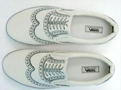 permanent marker + #vans #shoes #diy #make #sharpie