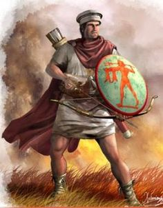 Cretan archer of Macedonian Army The Seleucid era after Alexander death Greek Warrior, Alexander The Great, Dark Ages, Medieval, Historical Pictures, Ancient Civilizations, Ancient Greece, Military History, Ancient History