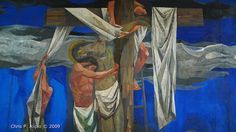 Jesus is Brought Down From the Cross, Vicente Manansala