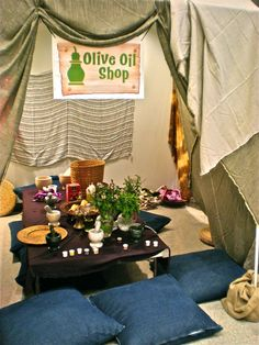 Decoration inspiration for Ahlan wa Sahlan! Welcome! VBS curriculum.