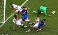 Messi suffered heartbreak in the 2014 World Cup final as Argentina were beaten 1-0 by Germany