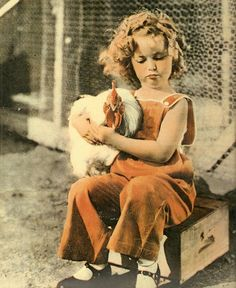 Shirley Temple with chicken.