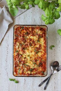 Cheddar, Lasagna, Quiche, Pizza, Cheese, Breakfast, Ethnic Recipes, Food, Impreza
