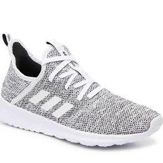 big sale f184d 6c0af adidas Shoes   Adidas Cloudfoam Pure Sneaker - Women S   Color  Black White    Size  9