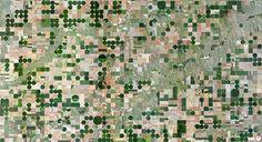 Едсон, Канзас, США. Вражаючі супутникові знімки про те, як ми змінили Землю