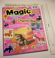 Zeitschrift, Kids Kreativ Magic Vol. 1 Looms Charm-Alarm