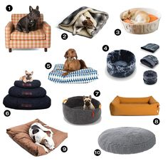 Make sure your pup is counting sheep in the coziest bed possible with one of these 19 stylish and comfy beds and blankets!