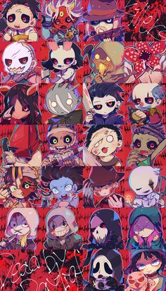 Horror Villains, Horror Movie Characters, Horror Movies, Horror Posters, Horror Icons, Horror Drawing, Villainous Cartoon, Horror Artwork, Funny Horror