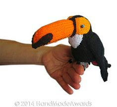 Pukas the Toucan Knitting Pattern