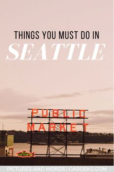 Looking for all the best things to do in Seattle? This Seattle guide will help you plan the best trip to the Emerald City! Filled with all the must-do things to help you plan the perfect Seattle itinerary. Don't plan your Seattle trip without it! #seattle #washington #pnw #usa #seattletravel #seattleguide #emeraldcity