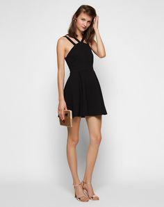 Kleid mit doppelten Trägern