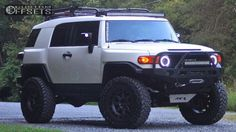 Fj Cruiser Custom Lifted Wheel