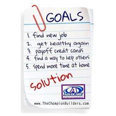 Goals, dreams, aspirations and freedom.  https://www.advocare.com/140441767