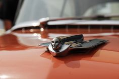 1955 Cadillac Coupe DeVille hood ornament