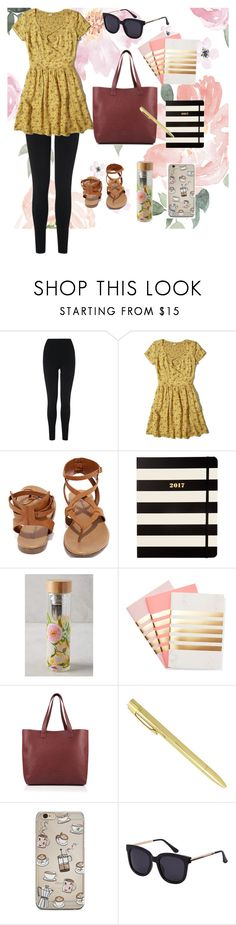 """""""Uni outfit"""" by meow19 on Polyvore featuring L.K.Bennett, Hollister Co., Breckelle's, Kate Spade, Lulie Wallace, StudioSarah and Superdry"""