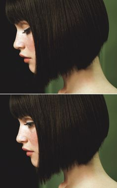 Want to know which are the latest and most popular short bob hairstyles? In this post you will find the best images of Popular Short Bob Hairstyles that. Bob Hairstyles For Round Face, Bangs For Round Face, Short Bob Haircuts, Pretty Hairstyles, Fringe Hairstyles, Bob Hairstyles With Fringe Blunt Bangs, Short Hair Cuts For Women With Round Faces, Bob Haircut With Bangs, Formal Hairstyles