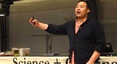 Famous chef #DavidChang talks Umami at #Harvard - Watch the  #video - http://www.finedininglovers.com/blog/news-trends/david-chang-harvard-lecture/