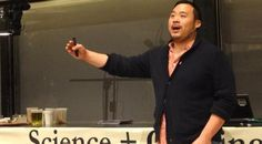 Famous chef #DavidChang talks Umami at #Harvard - Watch the  #video - http://www.finedininglovers.com/blog/news-trends/david-chang-harvard-lecture/