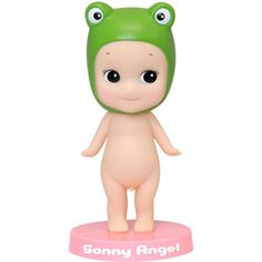 Sonny Angel Collectable Dolls - Kids Gifts - Fall in love with our Sonny Angel Frog Bobble Doll! Pop him on any flat surface and watch his little head dance around - the perfect little companion to look over and guard you mini doll Sonny Angel collection! #sonnyangel #bobble #retrotoys #kewpiedolls #kidsgifts #littlebooteek
