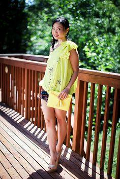 robert rodriguez top, ikat print shorts