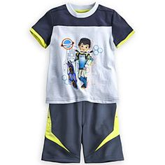 Disney Miles from Tomorrowland Tee and Shorts Set for Boys | Disney StoreMiles from Tomorrowland Tee and Shorts Set for Boys - He'll be wearing tomorrow's fashion today when he sports our <i>Miles from Tomorrowland</i> soft, all-cotton tee and coordinating shorts with side pockets, perfect for toting along exploring essentials!