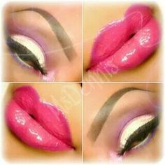 Fuscia passion! makeup look by me