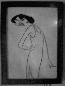 Spotted on the door to the Waverly Inn ladies room.