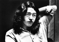 Rory Gallagher lost in a thought...about......