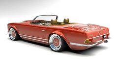 Mercedes Benz Coupe, Mercedes Classic Cars, Mercedes Slc, Custom Mercedes, Rs4, Auto Retro, Amazing Cars, Custom Cars, Concept Cars