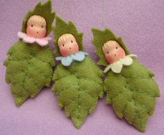 Atelier Pippilotta :: Lente  really cute as Holly leaves for christmas