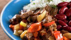 Pabellon Criollo fra Venezuela - MatPrat Beef, Food, Venezuela, Meat, Essen, Ox, Ground Beef, Yemek, Steak