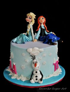 Frozen with Anna and Elsa