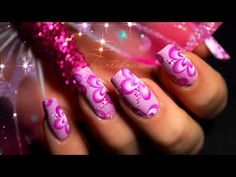 Idées Nail Art One Stroke - YouTube