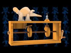 Aardvark vs Ant Wooden Toy 3D Model - YouTube