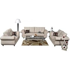 7 Seater Premium Sofa Set for Living Room Area. Beige Room, Sofa Set Online, Sofa Material, Sofa Colors, Living Room Seating, Comfortable Sofa, 2 Seater Sofa, Cushions On Sofa, Home Decor Items